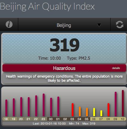 Back to hazardous air..