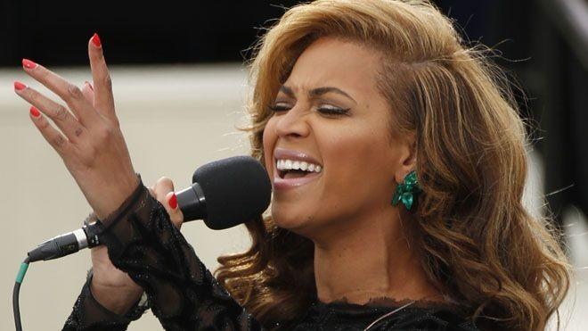 Beyonce in Lorraine Schwartz Emerald Earrings