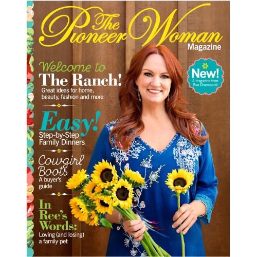 Medium Crop Of Pioneer Woman Magazine