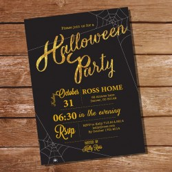Small Of Halloween Party Invitations