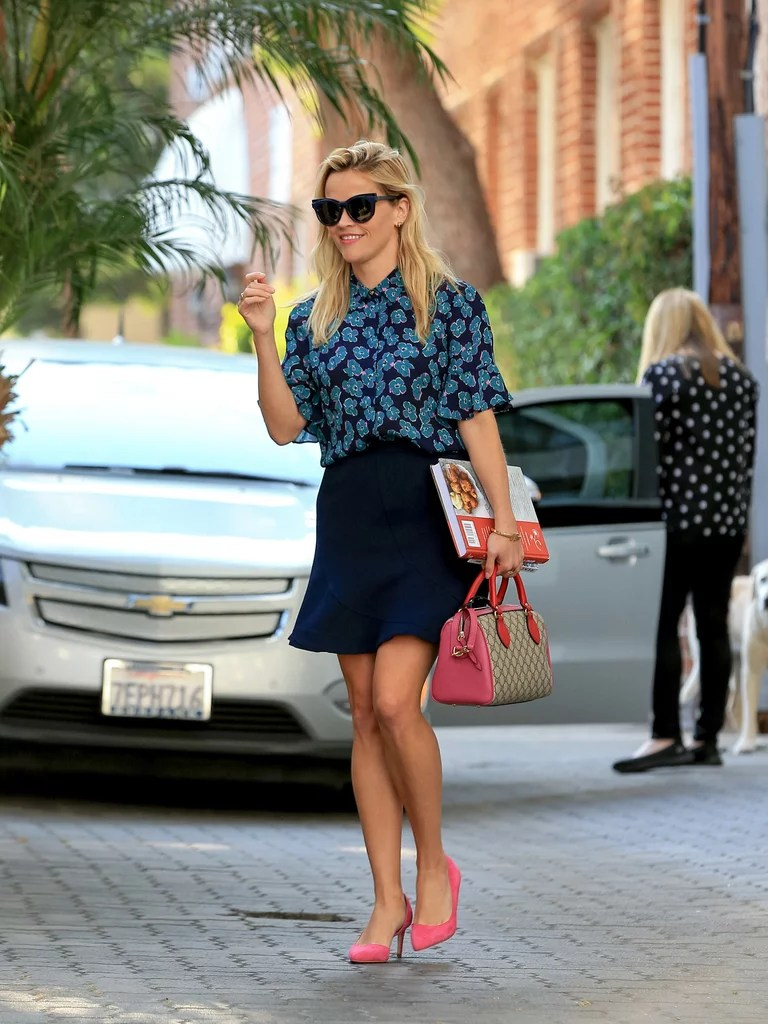 Reese Witherspoon Work Outfit Inspiration   POPSUGAR Fashion Reese Witherspoon Work Outfit Inspiration