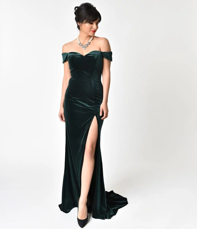 Large Of Hunter Green Dress