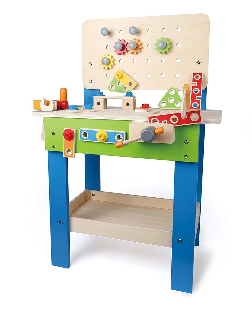 Double Hape Master Workbench Wooden Tool Bench Hape Master Workbench Wooden Tool Bench Gifts Kids Under Kids Tool Bench Target Kids Tool Bench Step 2 baby Kids Tool Bench