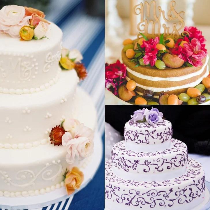 Floral Wedding Cake Ideas Popsugar Food