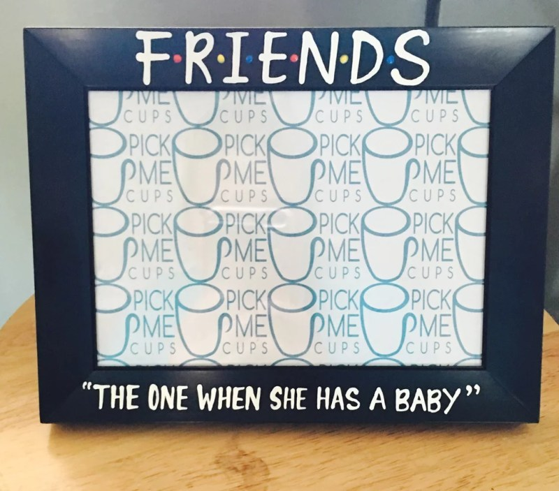Appealing Friends New Mommy Photo Frame Friends New Mommy Photo ...