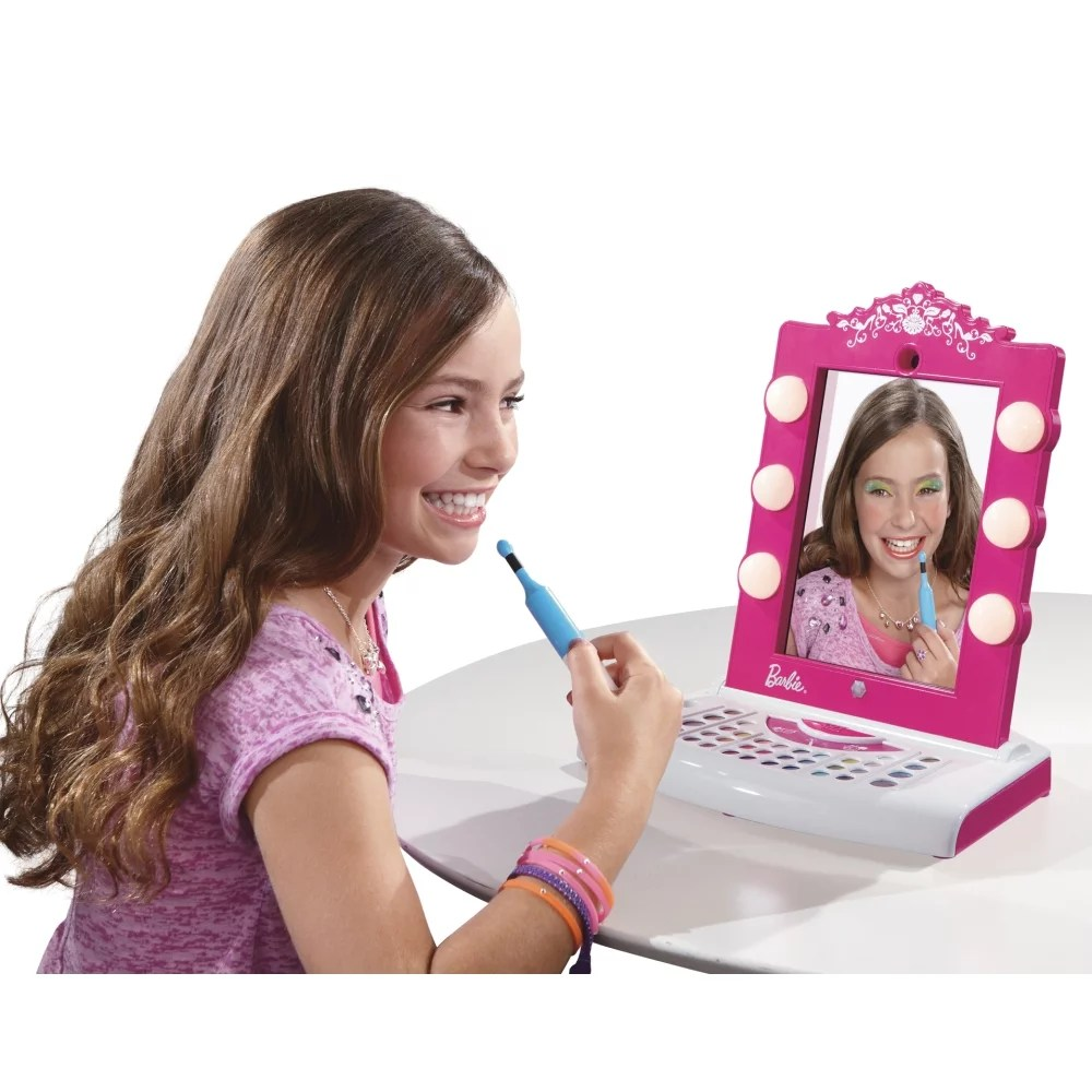 Winsome Kids Gifts Barbie Digital Makeover Mirror Gifts 5 Year Girls 5 Year Girls Birthday Gifts For Barbie Digital Makeover Mirror baby Gifts For 5 Year Old Girl