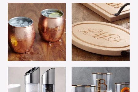 monogrammed kitchen gift ideas | popsugar food
