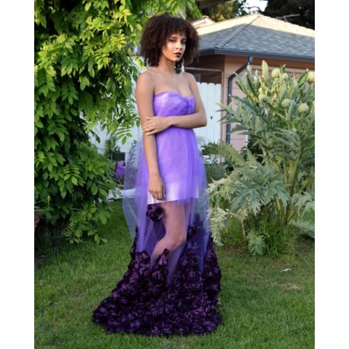 Medium Crop Of Purple Prom Dress