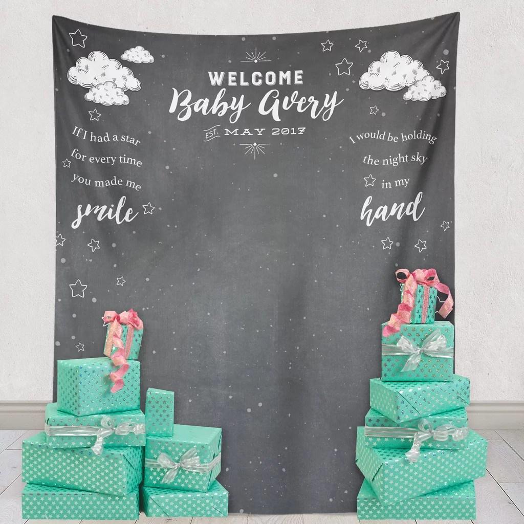 Fullsize Of Baby Shower Backdrop