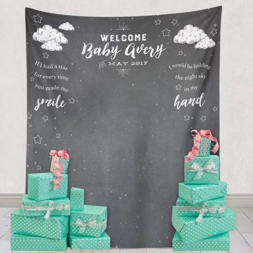 Medium Of Baby Shower Backdrop