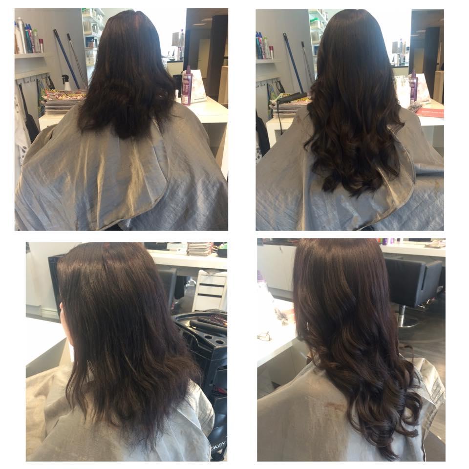 långt hår massage avsugning