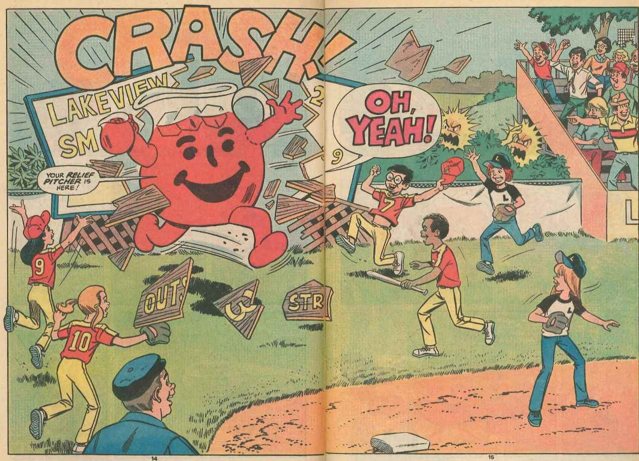 Picture Click To Enlarge Four Comic Books No Kids Would Ever Including Man Kool Aid Man Wall Gif Kool Aid Man Costume nice food Kool Aid Man