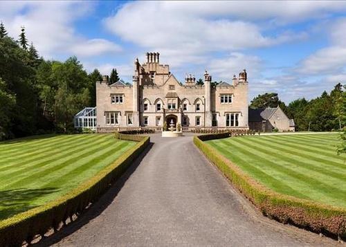 Scottish grand houses