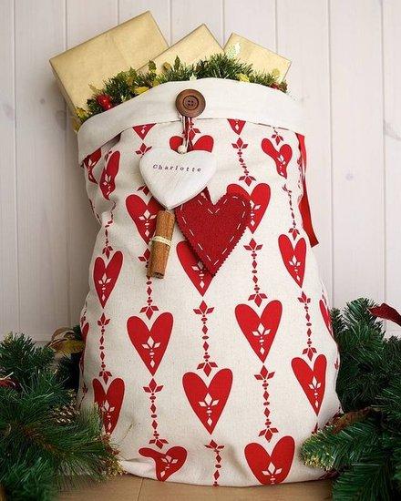 customised gift sack