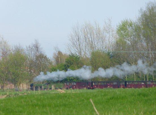 Steam engine in Kent