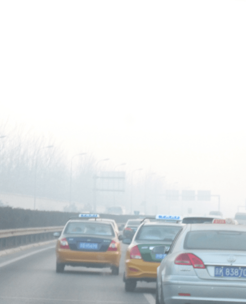 Beijing pollution day - 100+