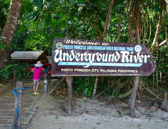 This is it - the underground river of Palawan