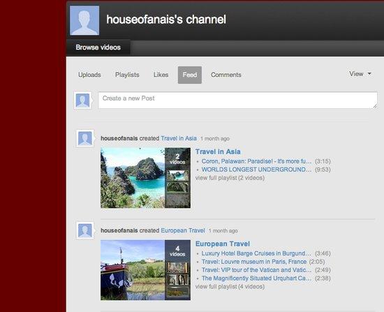 House of Anais on Youtube