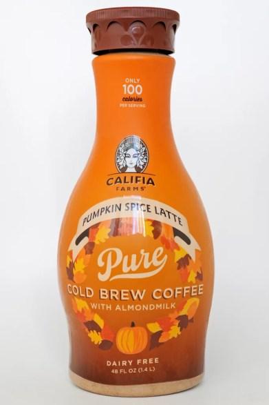 califia farms pumpkin spice latte cold brew coffee