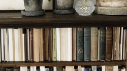 Small Of Books On A Shelf Image