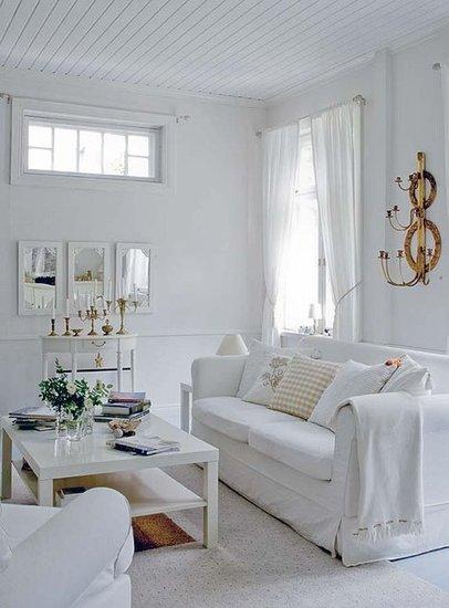 white & gold combo