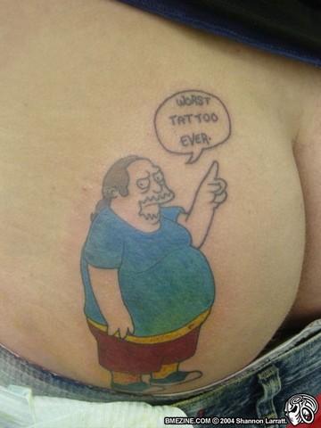 women tattoo girl ass