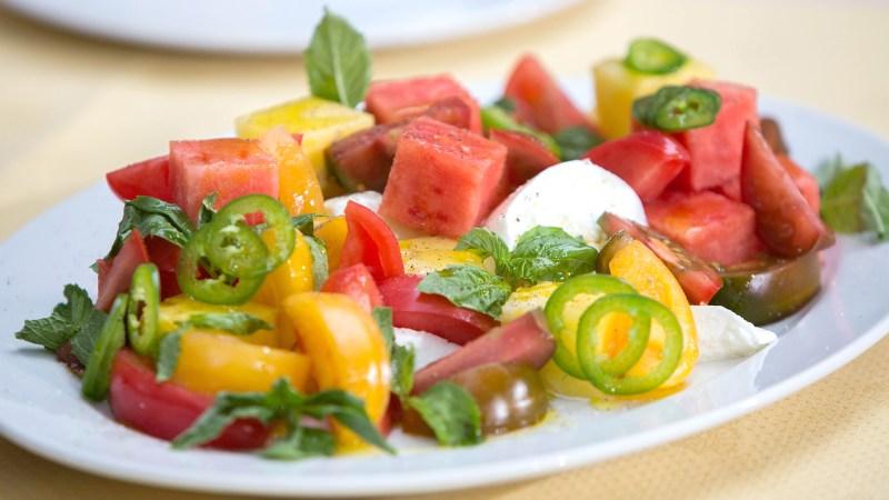 Large Of Heirloom Tomato Salad