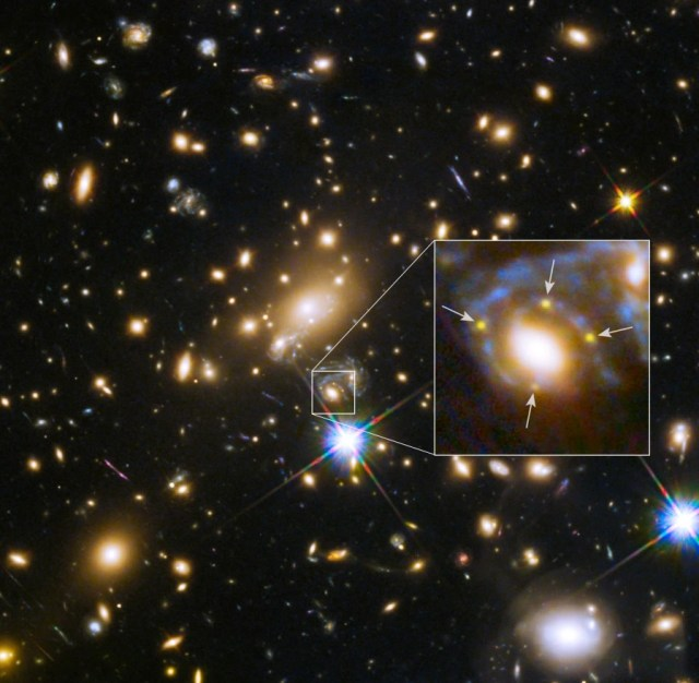 Image: Einstein Cross revealed