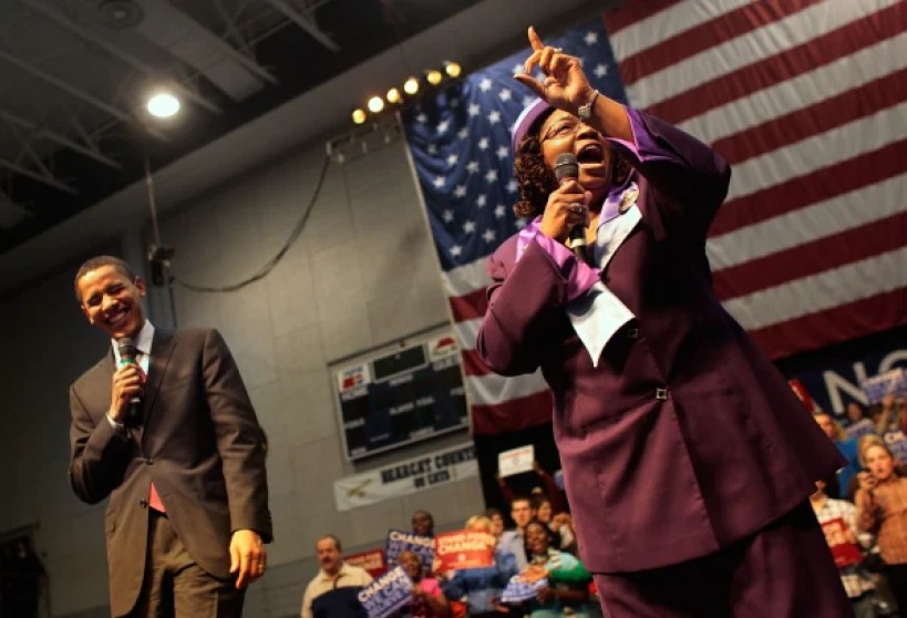 Obama Campaigns Throughout South Carolina Ahead Of Democratic Primary
