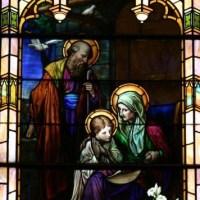 O casal feliz: São Joaquim e Sant' Ana
