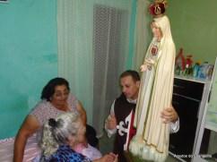 Visita da imagem de Nossa Senhora de Fátima aos doentes
