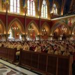 Missa na Basílica de Nossa Senhora do Rosário