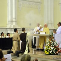 Cristo Ressuscitou! Aleluia! Vigília Pascal na Catedral de Vitória
