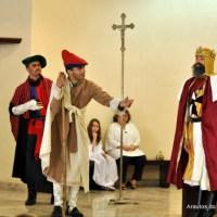 Encenação teatral na paróquia São Pedro