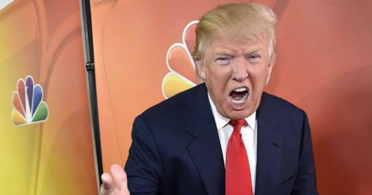 Donald Trump Ranting