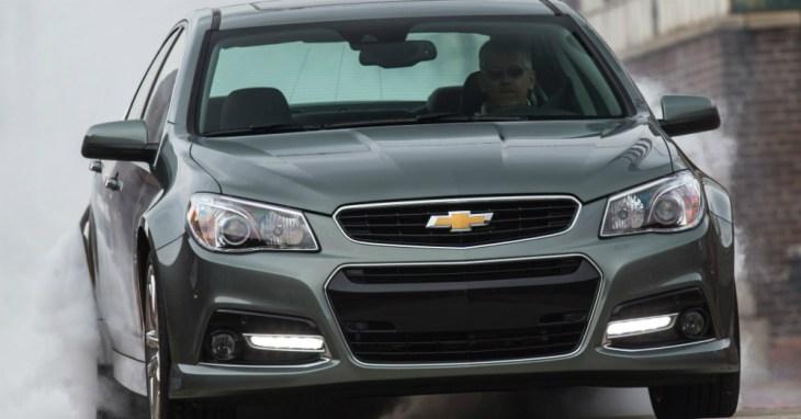 2015 Chevrolet SS Sedan