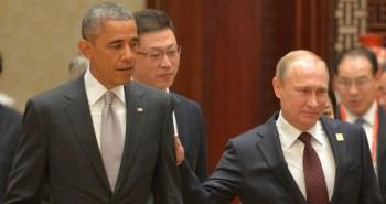 Obama and Putin Syria