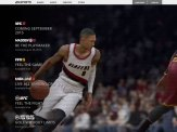 Damian Lillard on the homepage video