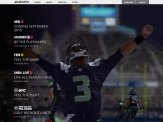 Here in the closing shot of the easports.com homepage video you see Russel Wilson raising his arms in triumph