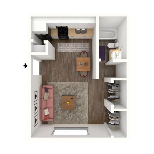 Medium Crop Of Average Studio Apartment Size