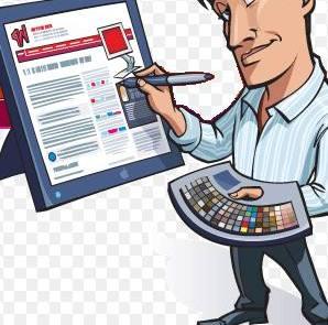 Ilustrasi Web Designer