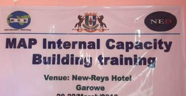 Capacity building Banner