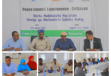 Cover - Peace Council Conference 2020 Galkaio