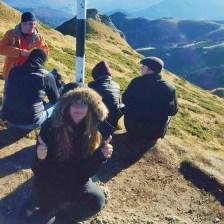 Andreea - 2015 Virful Ciucas - excursie