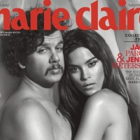 Marie Claire, March 2012 (Naked Issue)