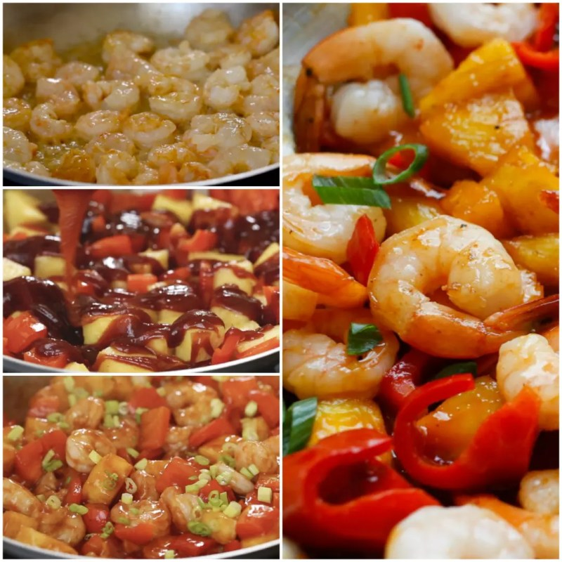 Large Of Sweet And Sour Shrimp