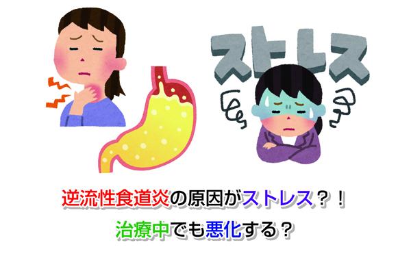 Cause of reflux esophagitis Eye-catching image