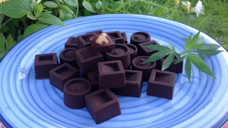 cannabis chocolates (Vegan)