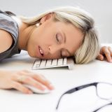 bigstock-exhausted-woman-sleeping-in-fr-73500736