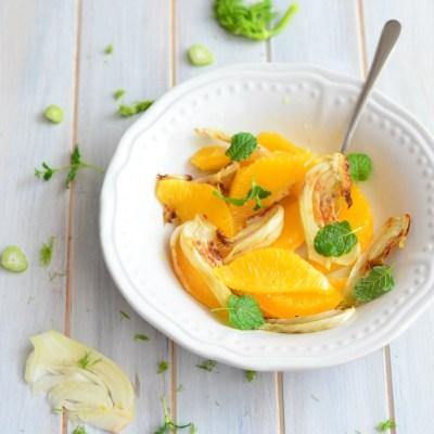 Orange & Fennel Salad